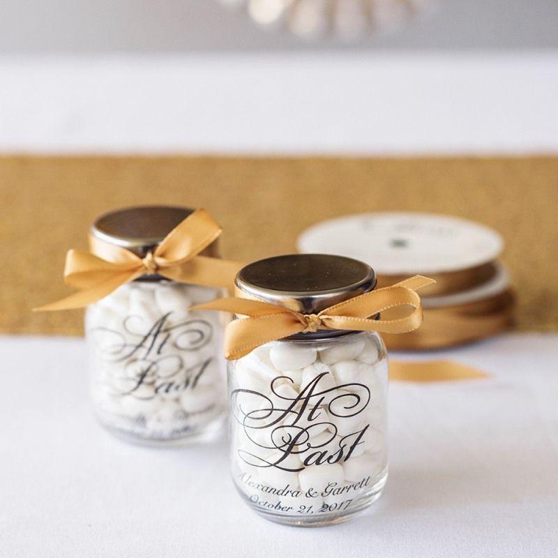 Printed Mini Mason Jars Wedding Things Wedding Favors Cheap