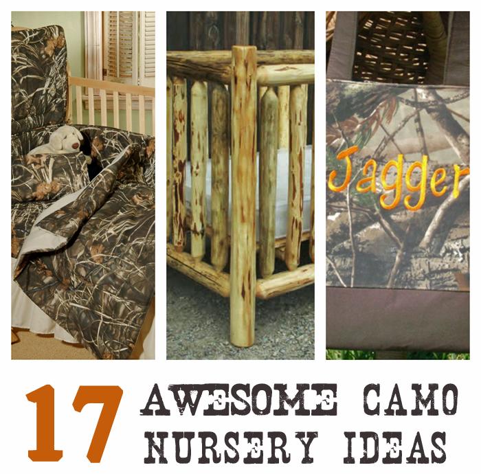 17 Awesome Camo Nursery Ideas