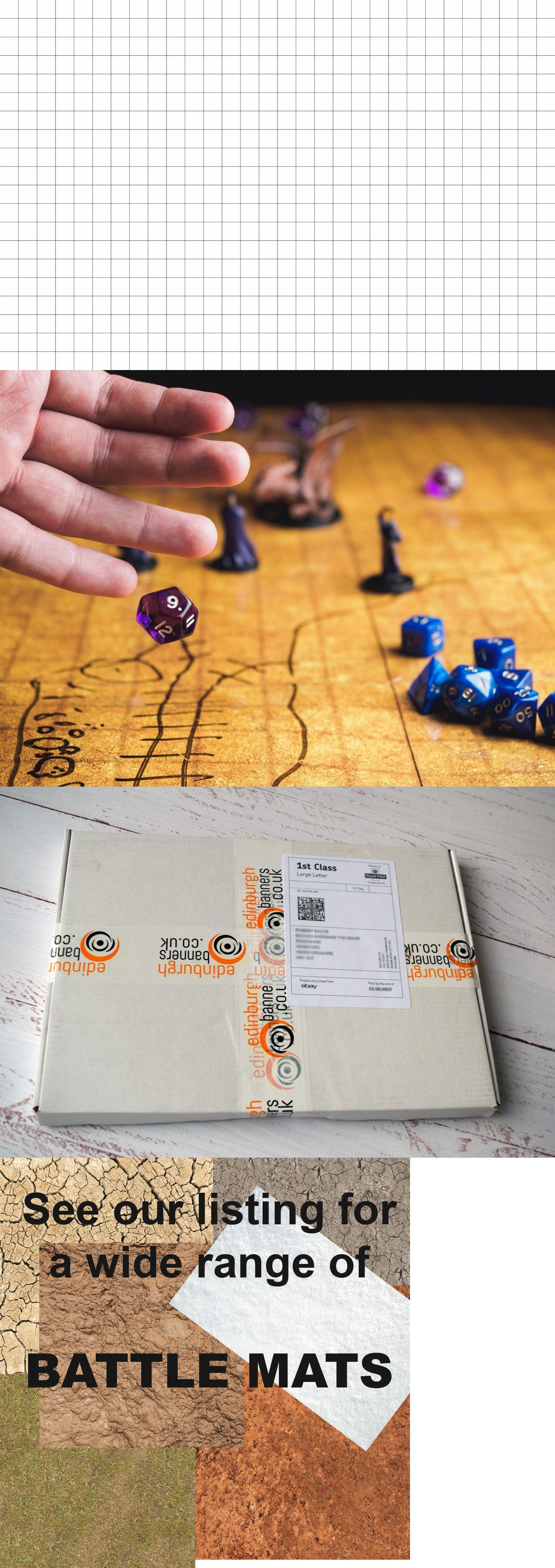 Full Sets 44114 Battle Mats Grid Game Mat 4x4 Rpg Dnd 3x3 Map 6x4 Dungeons And Dragons Blank Buy It Now Only 14 99 Grid Game Dungeons And Dragons Games