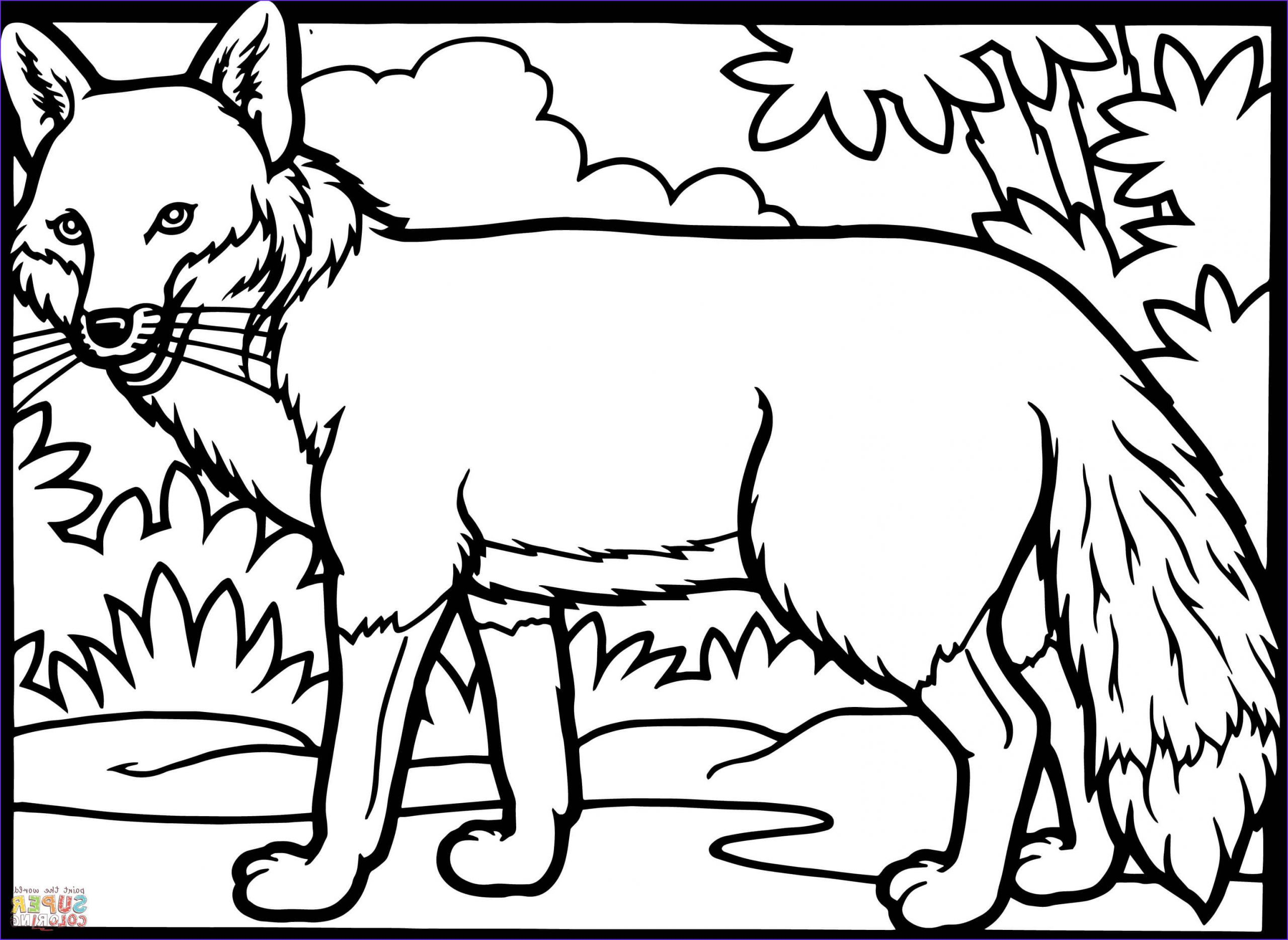 45 Cool Image Of Fox Coloring Sheet In 2020 Coloring Sheets