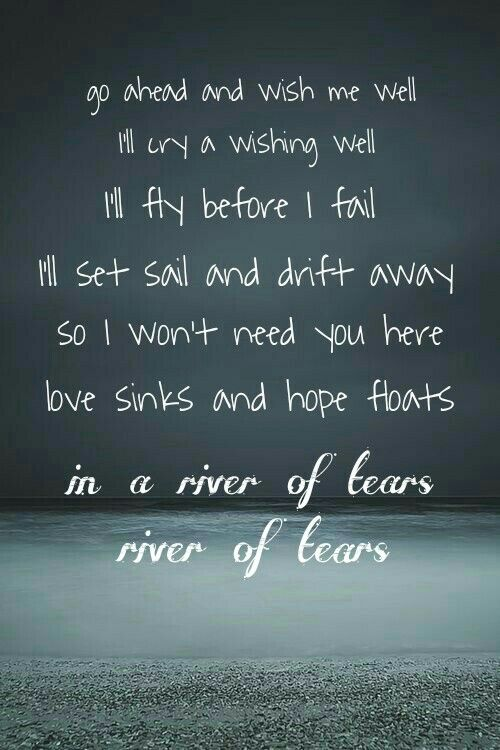 River of Tears -Alessia Cara this is my second most favorite