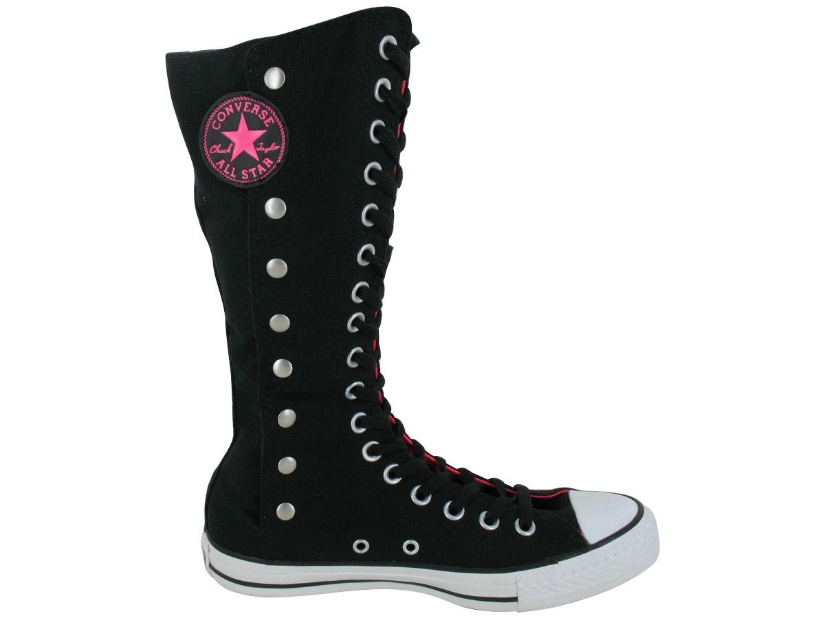 1f128e0aaf01 008 I gotz!! Converse CT Snapdown XHI Canvas black   neon pink ...