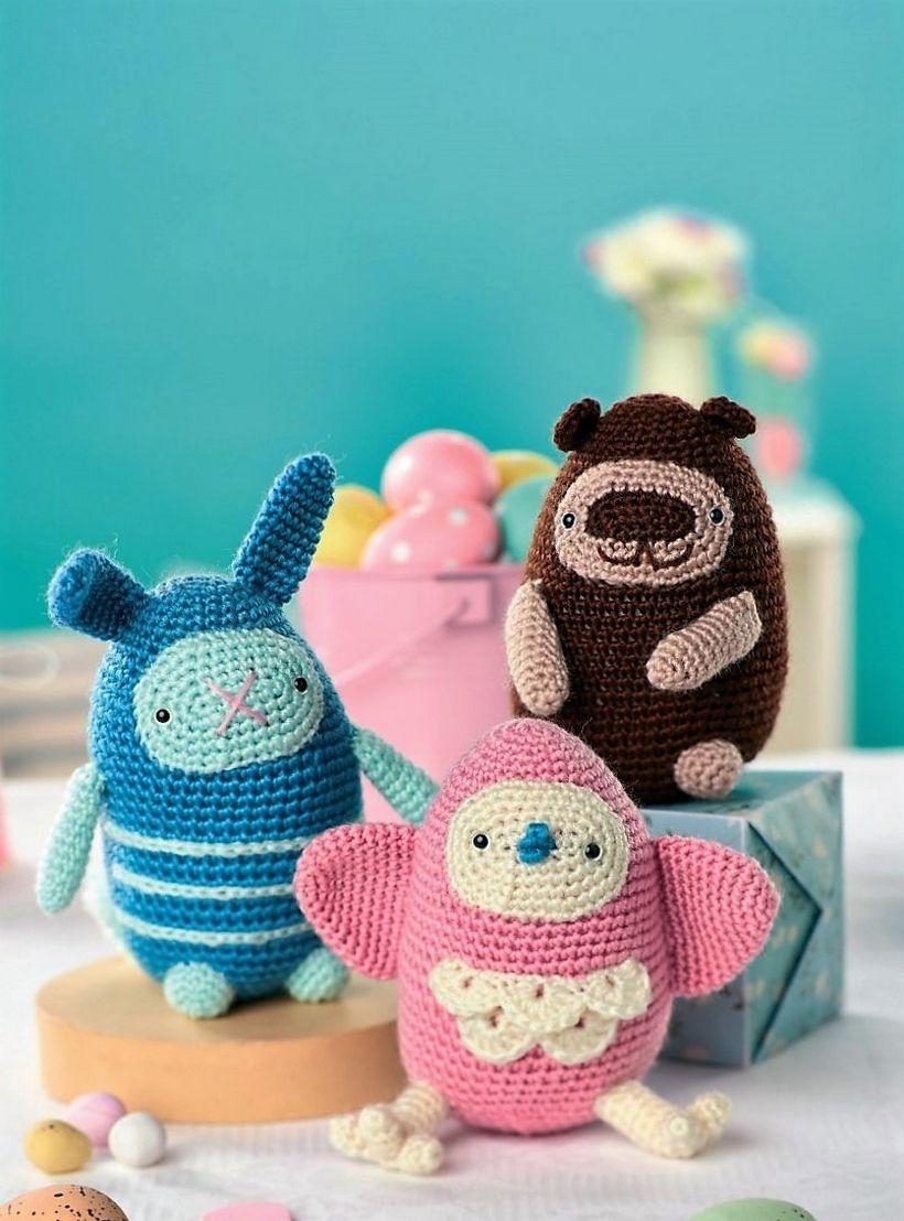 50 Free Crochet Patterns for Amigurumi Toys