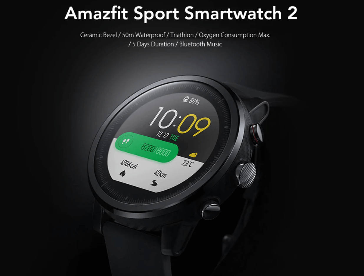 Image result for Xiaomi amazfit stratos sport 2 - HD Images