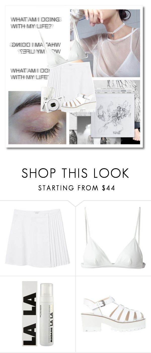 """where did i go wrong?"" by pinksweetpea ❤ liked on Polyvore featuring Monki, T By Alexander Wang, Chanel and Windsor Smith"