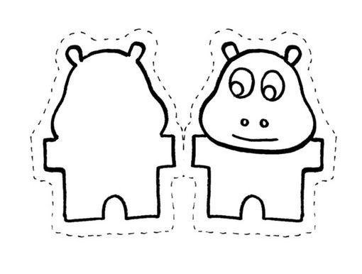 Fichas de Inglés para niños: Animales para colorear y hacer un zoo ...