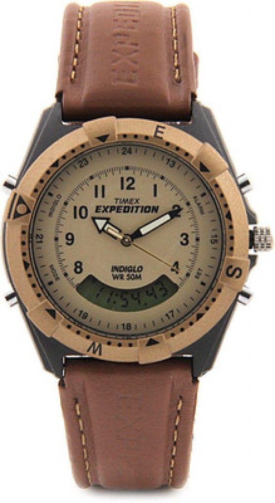 37fc9e6aa4  Timex Expedition Analog-Digital Beige Dial Unisex  Watch – MF13  men   amazon  flipkart