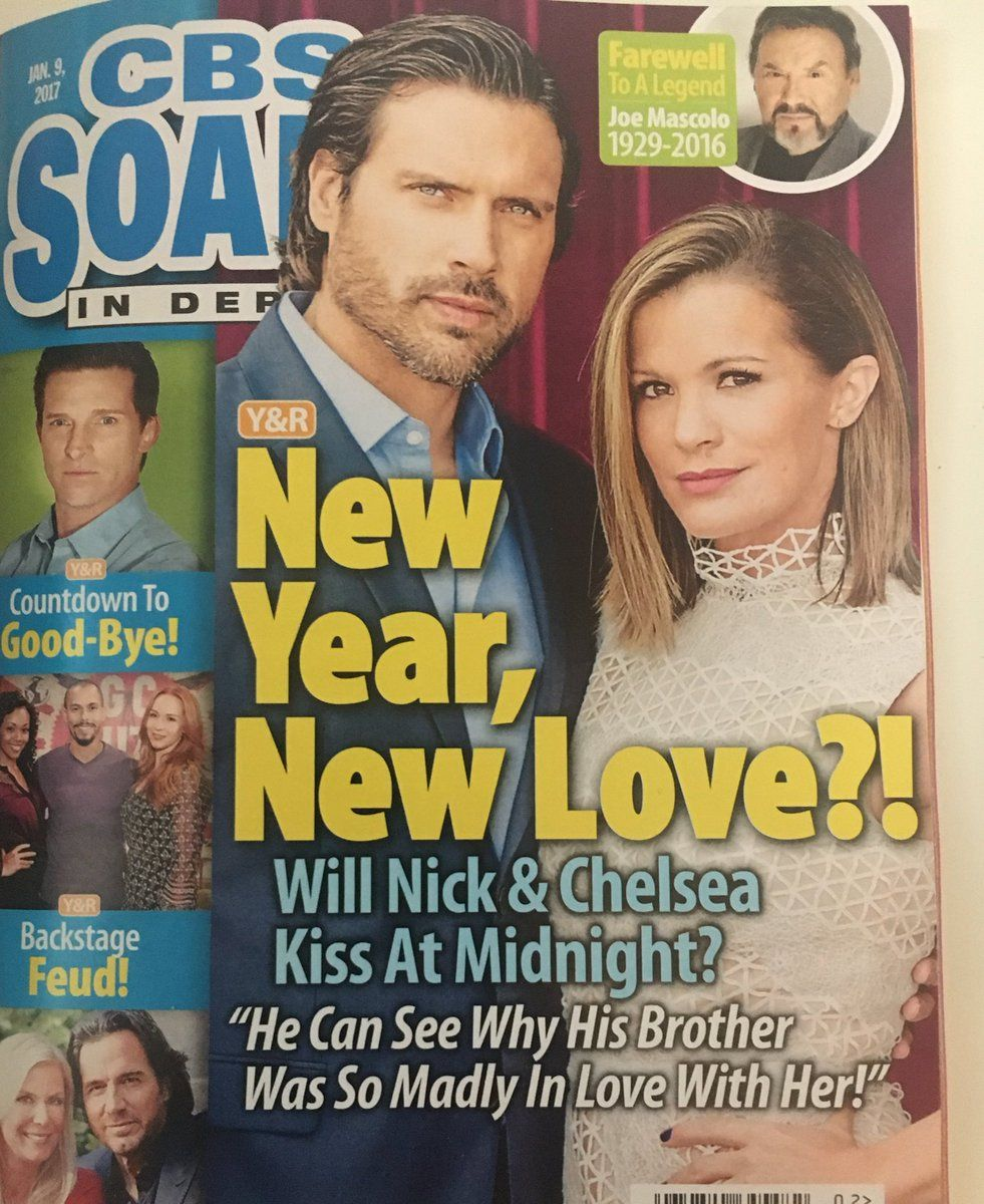 The latest cover of soapsindepthcbs featuring