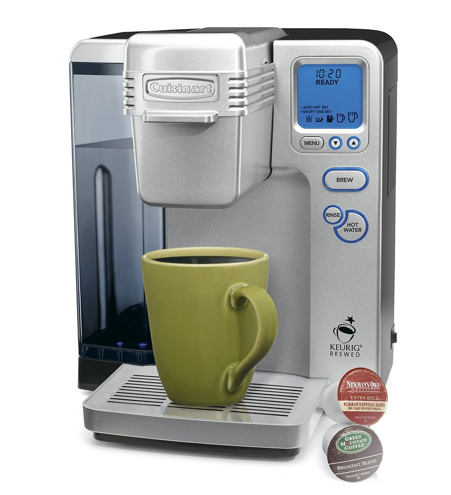 Choosy about your coffee no problem this cuisinart