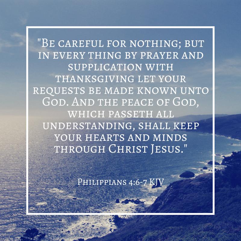 Image result for Philippians 4:6-7 kjv | Kjv, Peace of god ...