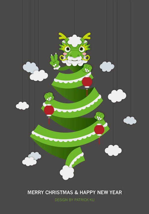 Xmas chinese new year card 2011 to 2012 by patrick ku via behance xmas chinese new year card 2011 to 2012 by patrick ku via behance m4hsunfo