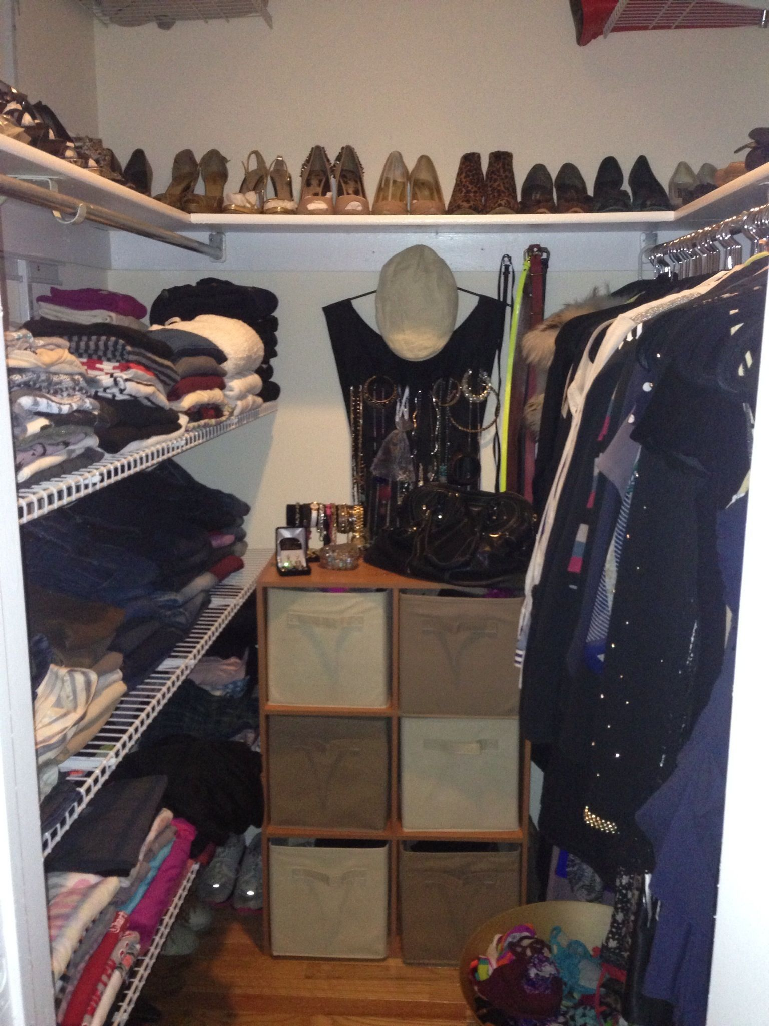I Worked With A Client In Santa Monica And When She Moved To Philly, She  Emailed Me This Photo! So Proud! Beautifully Organized Closet!