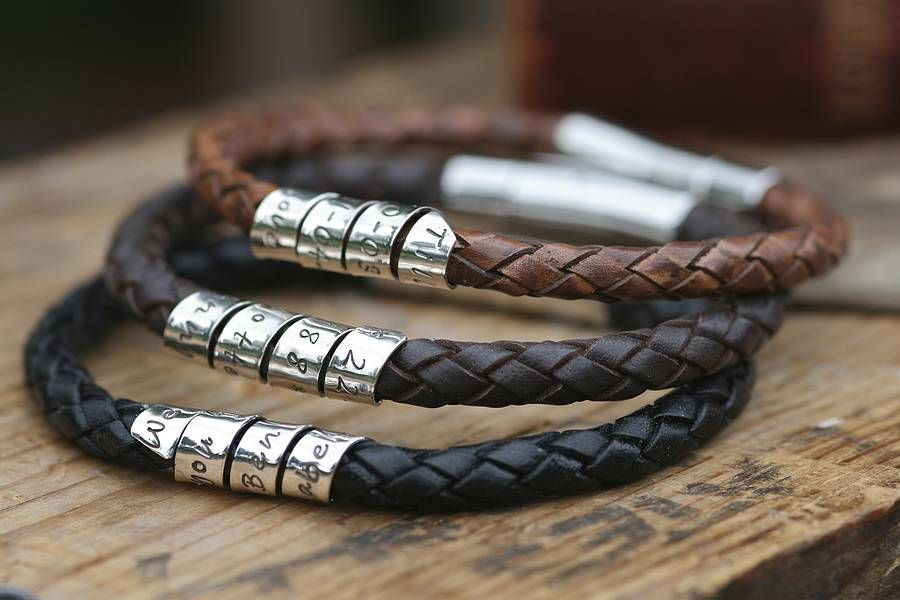 Top 15 Leather Bracelet Designs Mostbeautifulthings