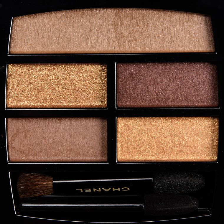 Chanel Deep Les Beiges Eyeshadow Palette Review, Photos