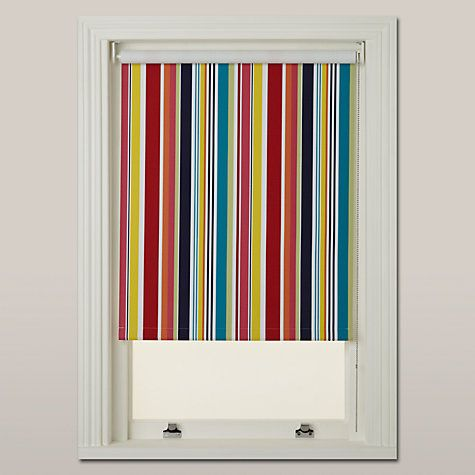 John Lewis Carnival Stripe Blackout Roller Blind Online At Johnlewis