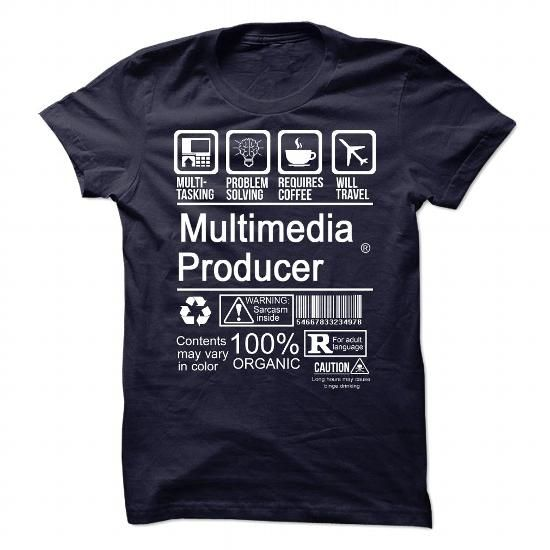 MULTIMEDIA PRODUCER - CERTIFIED JOB T-Shirt Hoodie Sweatshirts auu. Check price ==► http://graphictshirts.xyz/?p=57714