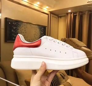 Top Quality Blcak Velet Sneakers Best Fashion White Leather Platform S– AmazingBaba