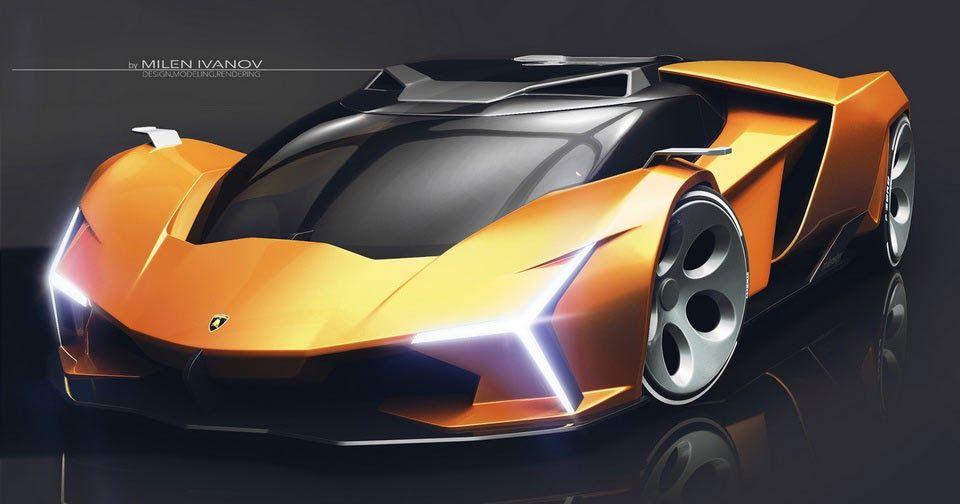 Lamborghini Concepto X Study Takes Us Back To The Future Auto