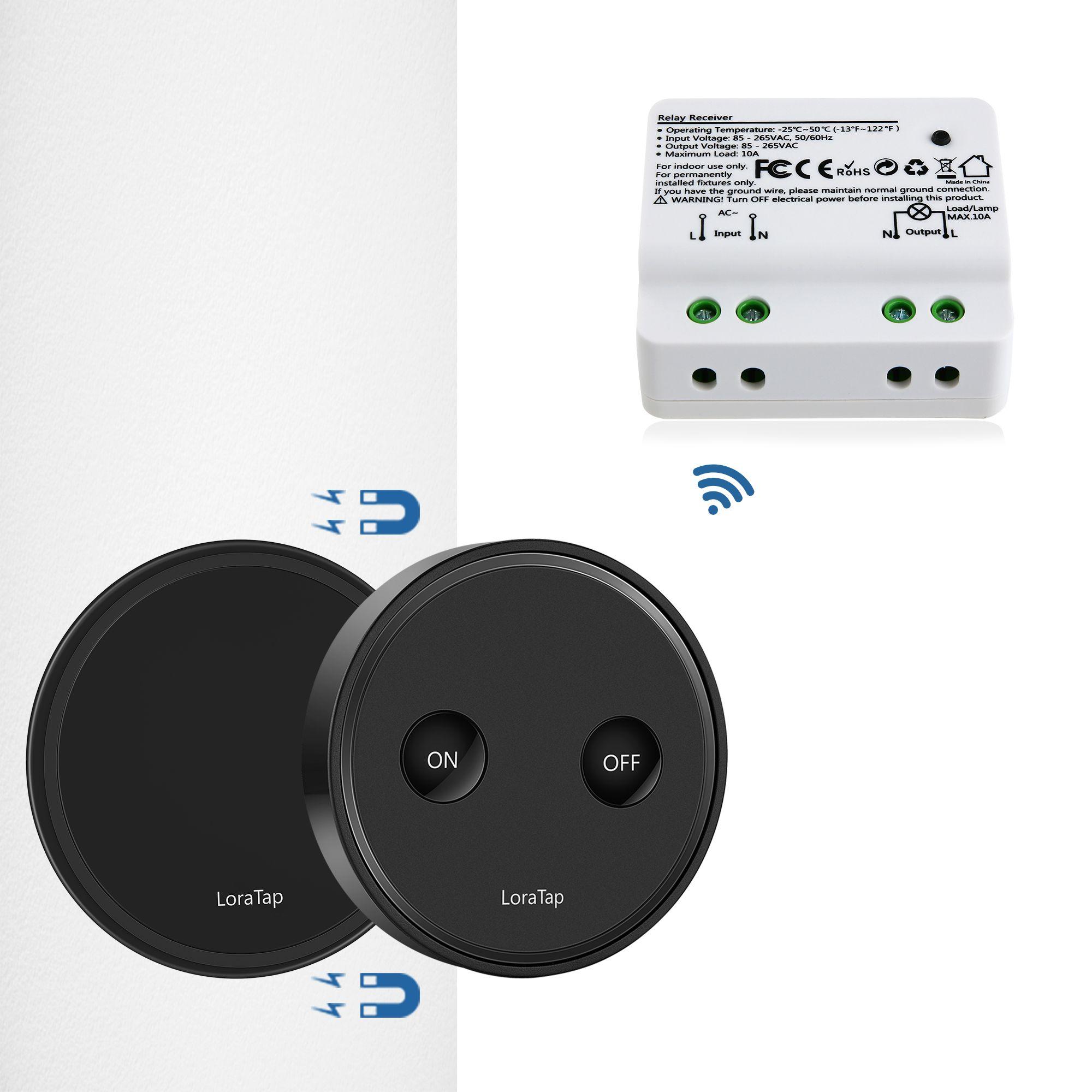 wireless light control switch wireless long range light switch ...