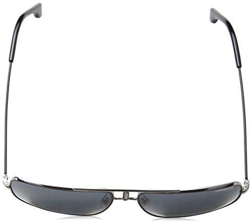 a41a0e482d Carrera Mens 1006S Sunglasses Ruthenium Matte BlackGray Blue OS
