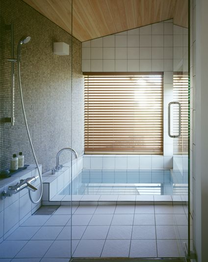 中庭につながる浴室 Bathroom Connected To Courtyard おしゃれまとめ