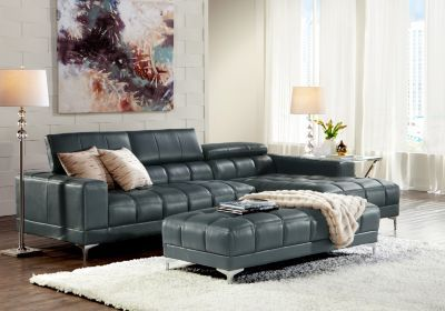 Groovy Sofia Vergara Sybella Blue 3 Pc Sectional Living Room In Spiritservingveterans Wood Chair Design Ideas Spiritservingveteransorg