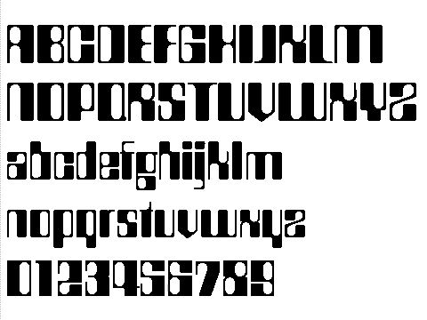 Countdown Font Used On Rollerball Retro Futurism Typeface Font Science Fiction Movies