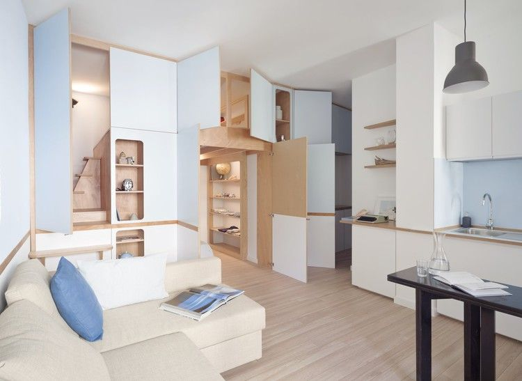A Tiny Apartment In The Italian Riviera Takes Cues From Nautical