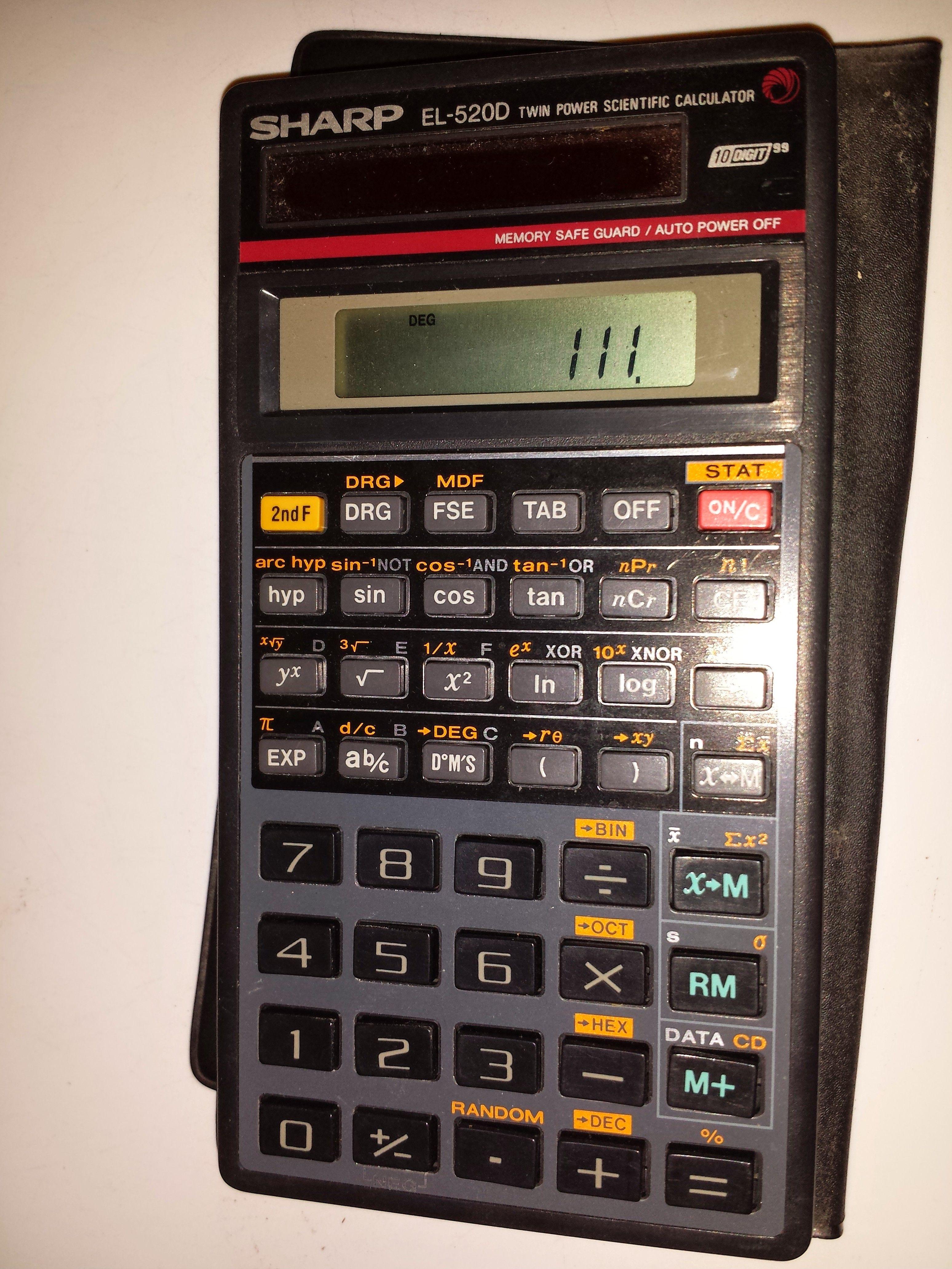 Sharp El F Business Financial Calculator A Perfect Companion