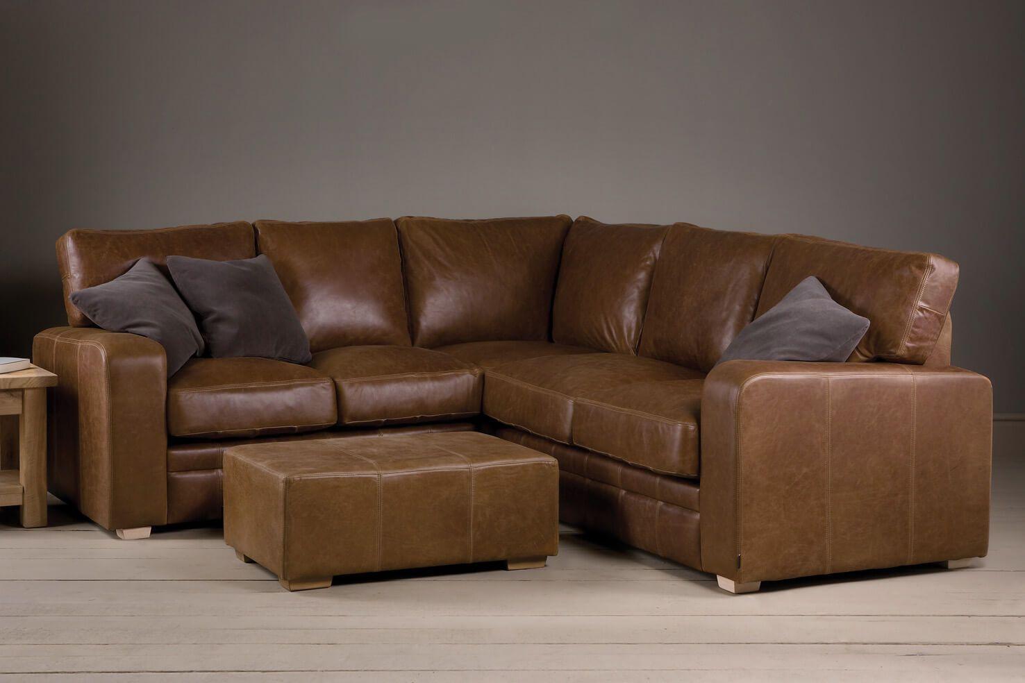 Brown Leather Corner Sofa Uk En 2020 Living