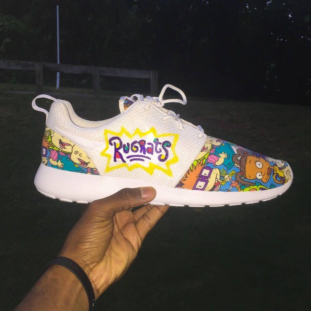 82be7ba373864 Rugrats Nike Roshe Run #roshe #rugrats | Sneakers in 2019 | Nike ...