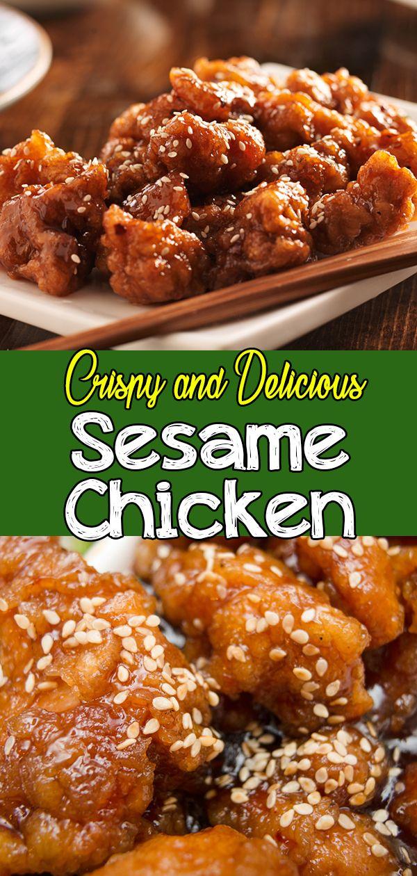 Easy Sesame Chicken images