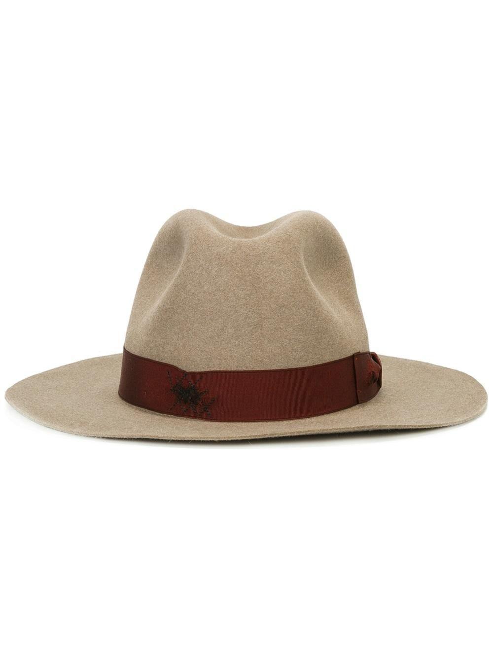 636ec94d7b2 Borsalino Strap Detail Fedora Hat