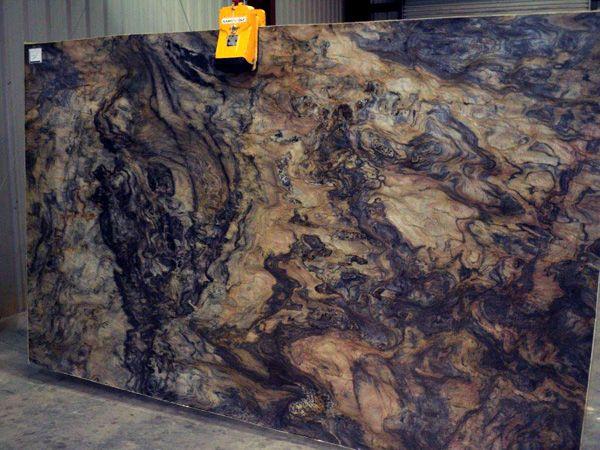 Blue Fusion Granite Slab 20765 Granite Countertops Kitchen Remodel Countertops Granite Slab