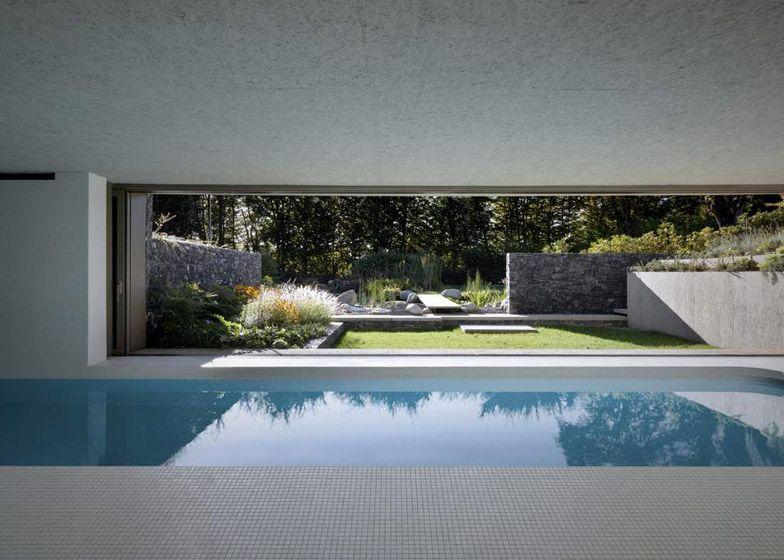 Act Romegialli Completes Underground Swimming Pool