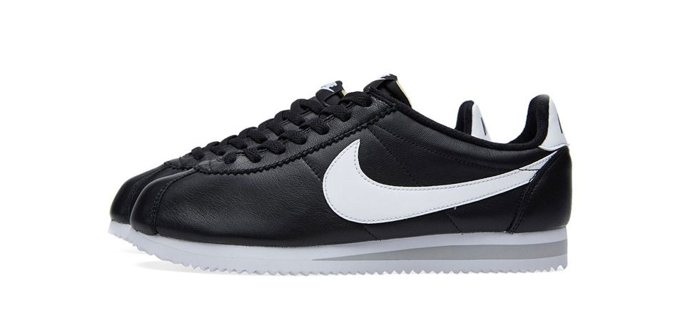 Nike Classic Cortez Premium Black and White