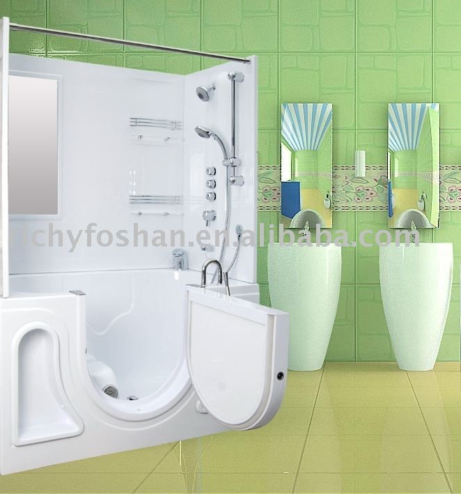 HANDICAP BATHTUB SHOWER COMBINATION  Bathroom Design Dad