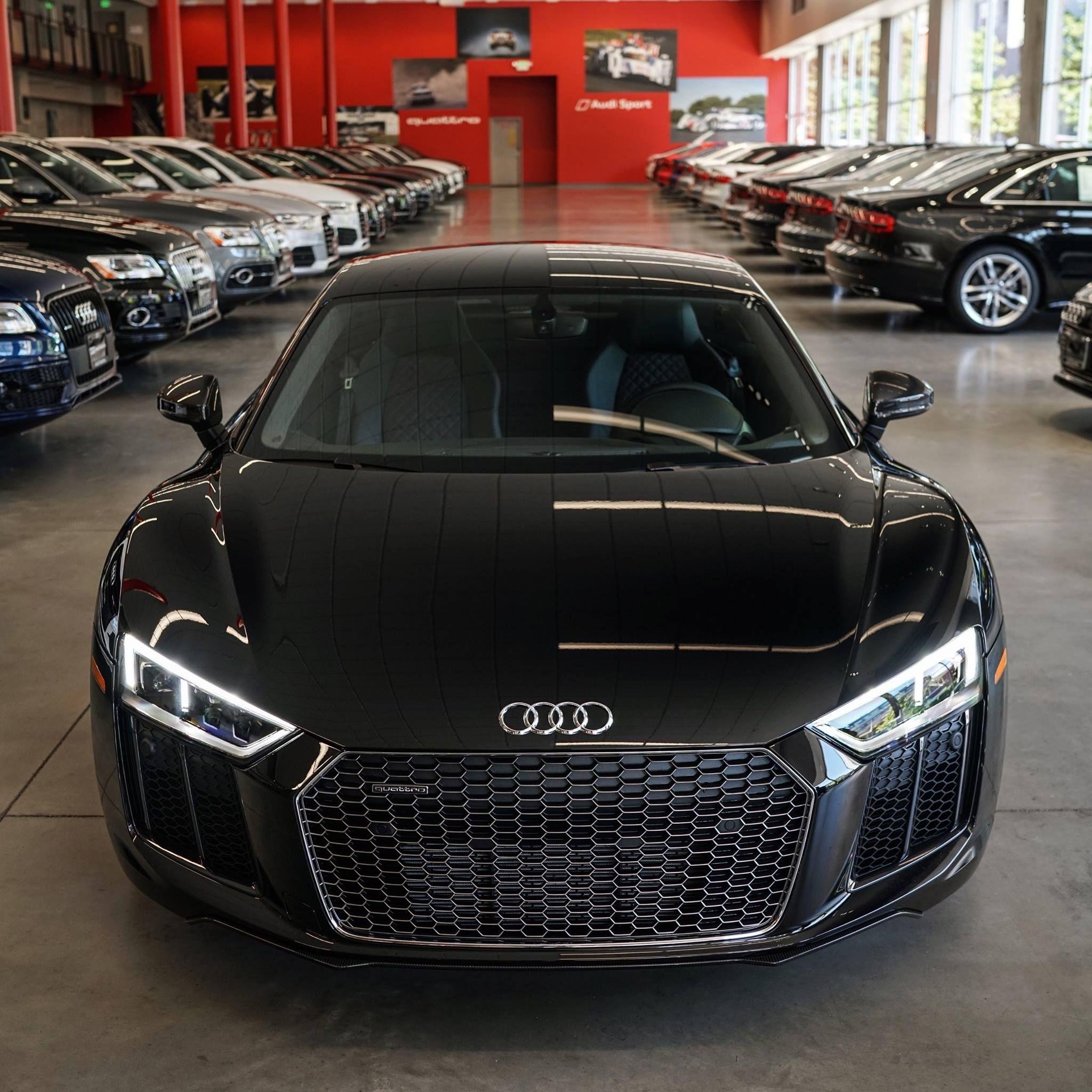 Black R8 V10 Plus Audiseattle Com Seattle Wa Luxury Car Dealership Audi Audi Suv