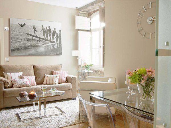 Claves para decorar casas mini muebles de cristal salon for Decoracion muebles salon