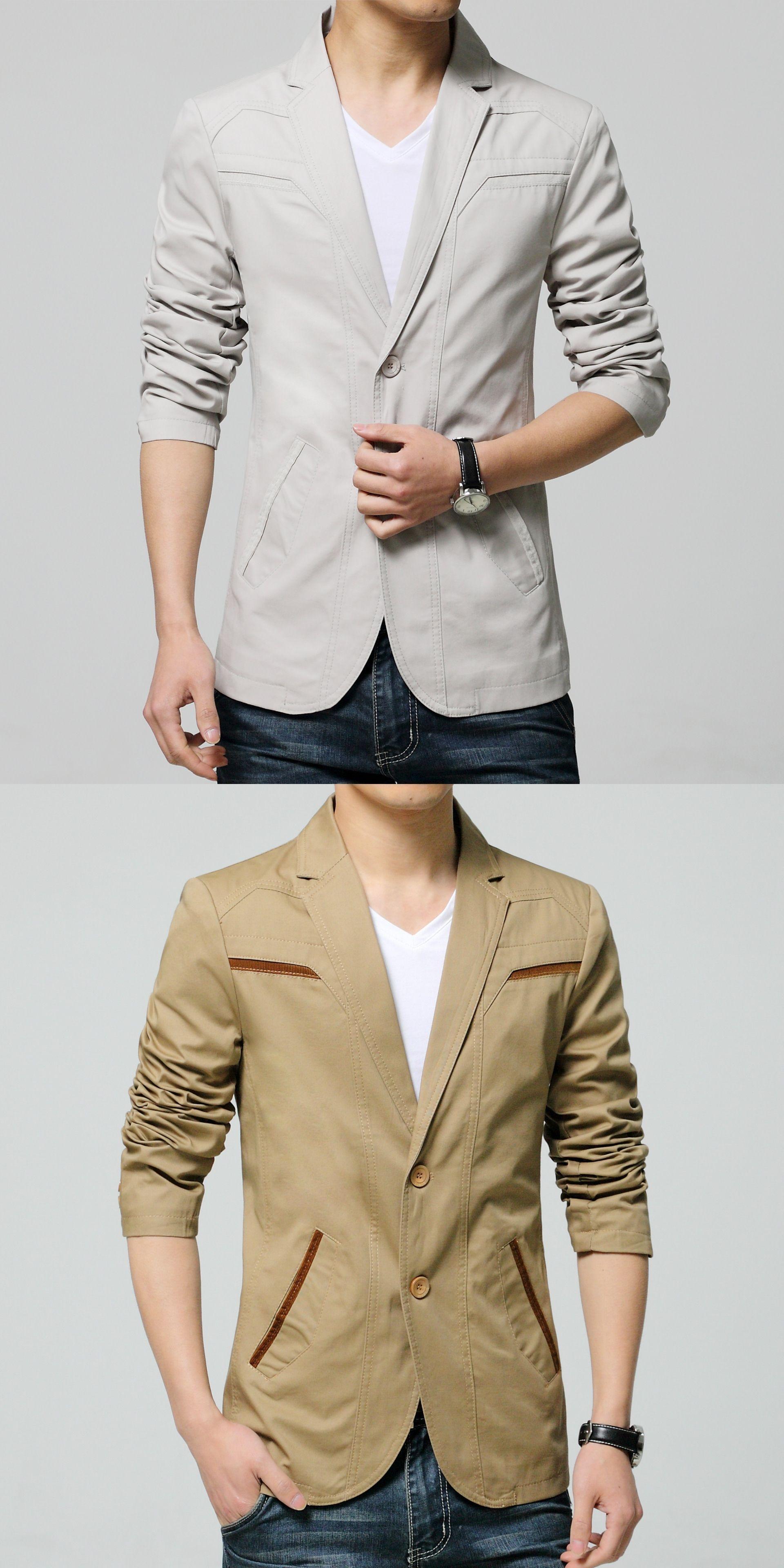 Mxlmen suit jackets blazers dress suits menus casual fashion slim