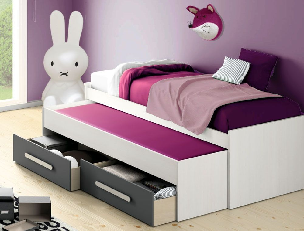 pingl par marie fran oise paris sur chambre enfant pinterest lit enfant chene blanc et. Black Bedroom Furniture Sets. Home Design Ideas