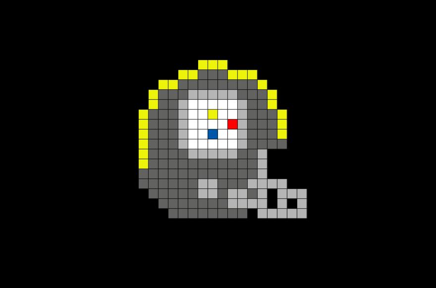 Pittsburgh Steelers Pixel Art Pixel Art Art Pittsburgh