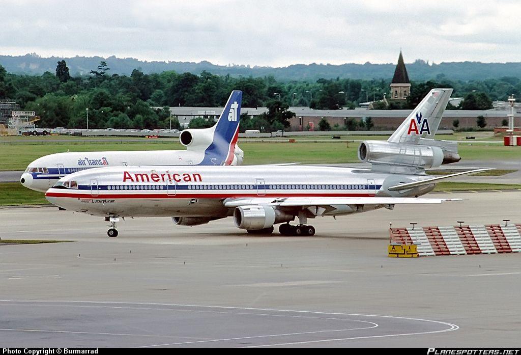 American Airlines Dc 10 N130aa American Airlines
