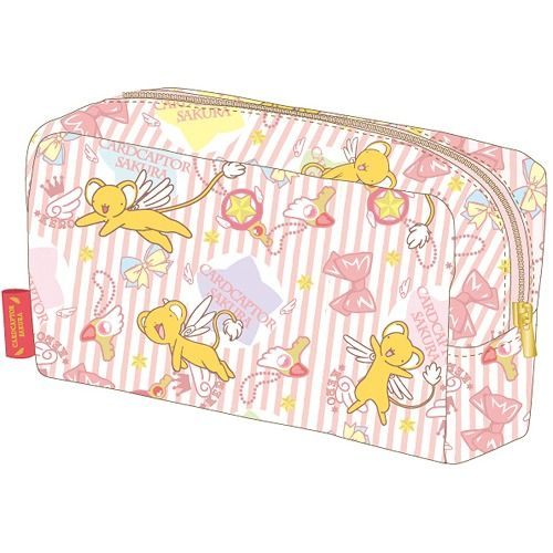 CDJapan+:+Cardcaptor+Sakura+(Card+Captor+Sakura)+Square+Pouch+(Kero-chan)+Collectible