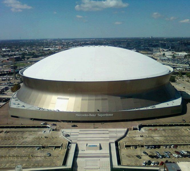 New orleans saints superdome on pinterest new orleans for Mercedes benz new orleans