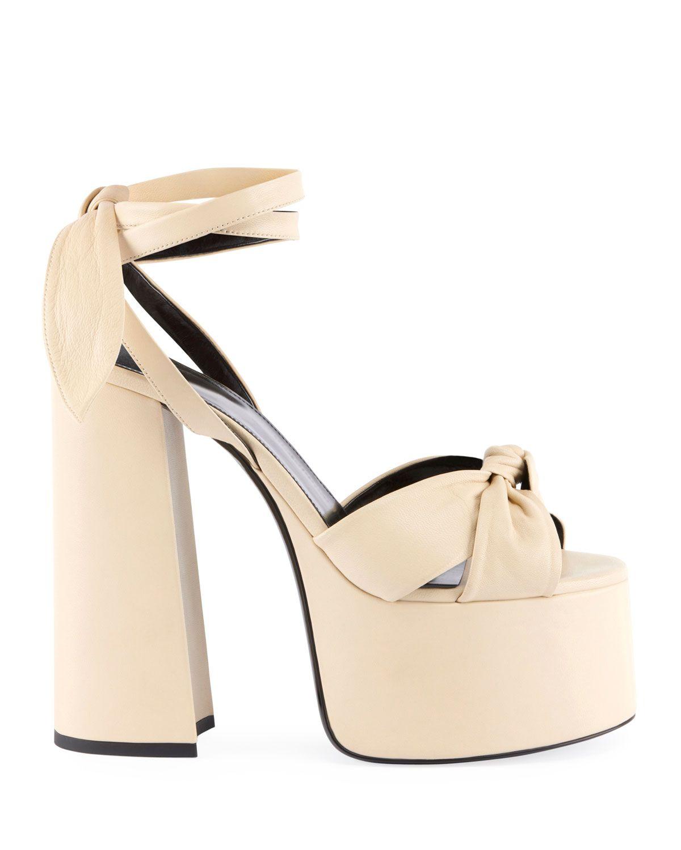 Platform heels chunky, Platform sandals
