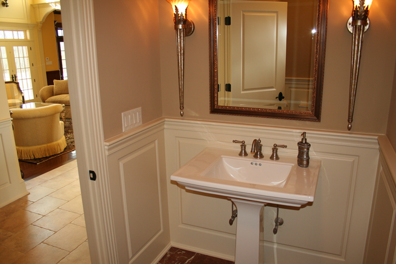 WainscotingRaisedPanelBathroomConnecticutCTWainscoting - Wall paneling for bathroom for bathroom decor ideas