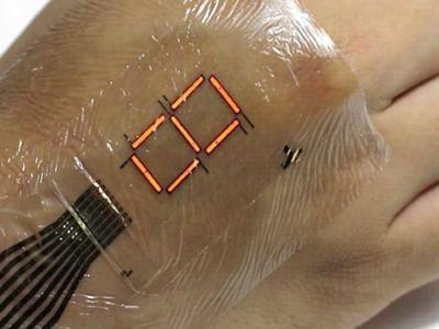 Sticker removible convierte tu piel en una pantalla digital. DETALLES: http://www.audienciaelectronica.net/2016/04/sticker-removible-convierte-tu-piel-en-una-pantalla-digital/