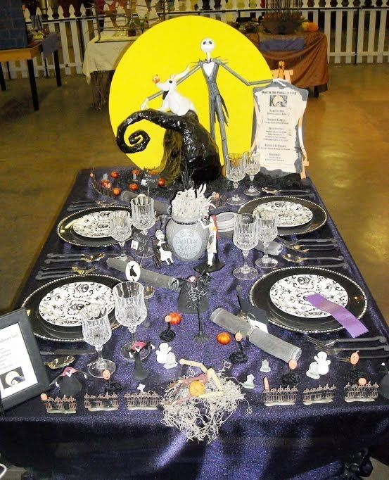 Nightmare Before Christmas Table Why Dont I Have This Already