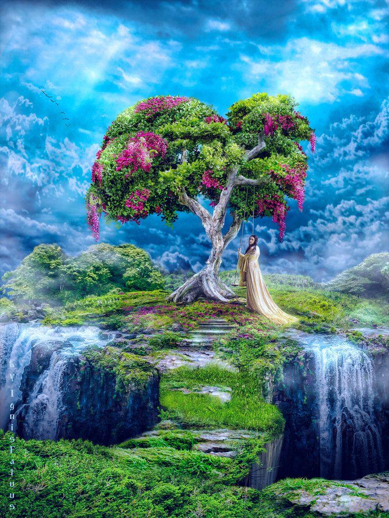 lost paradise   Fantasy landscape, Fantasy places, Lost